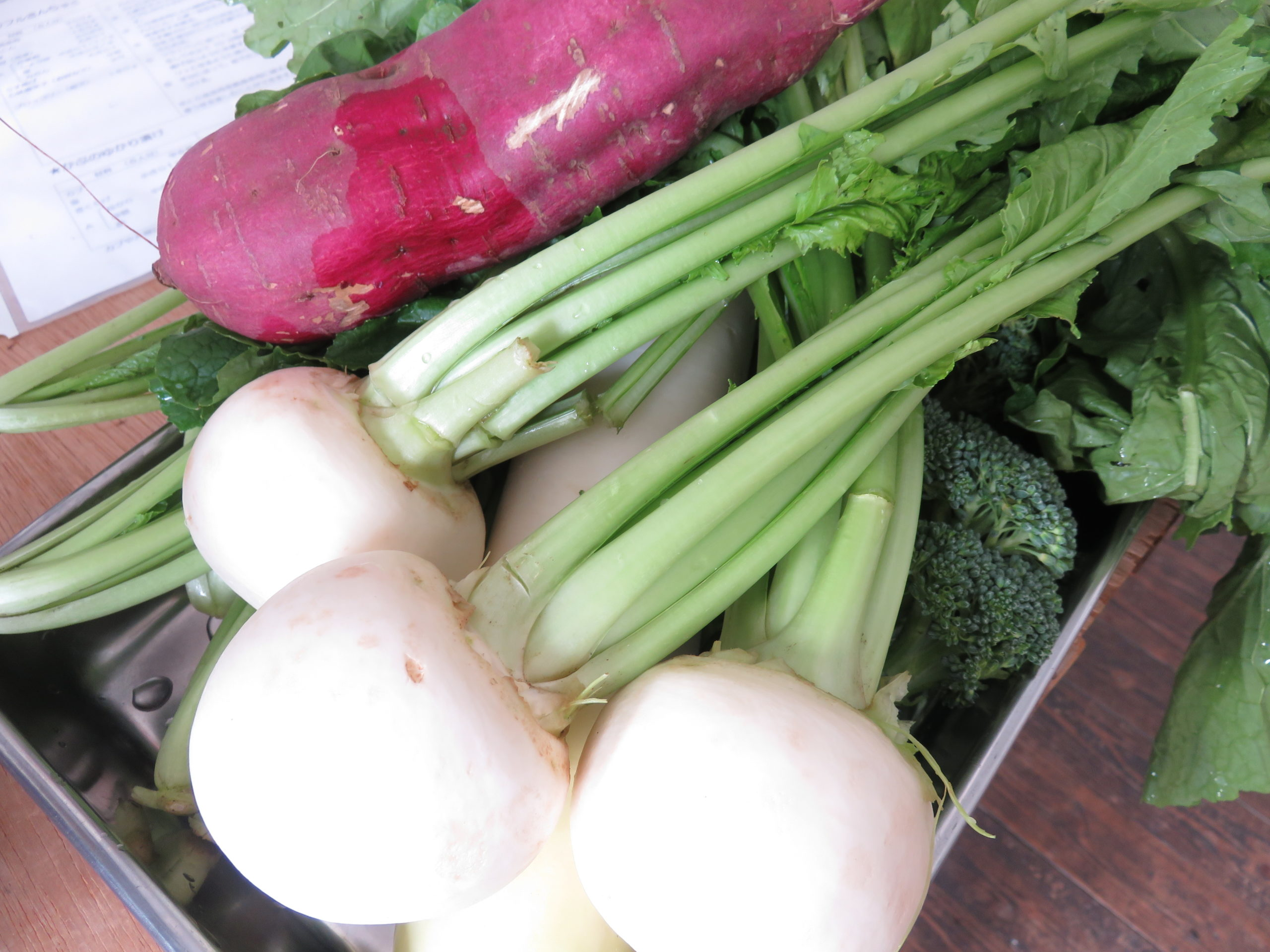 旬の野菜講座で季節を感じる